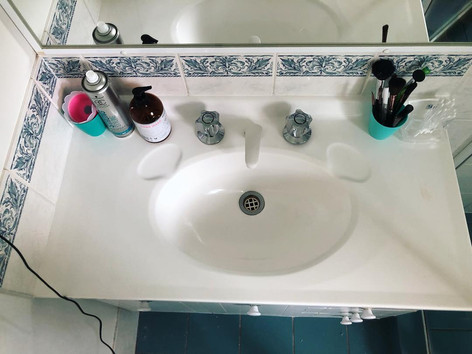 Basin Cleaning - After