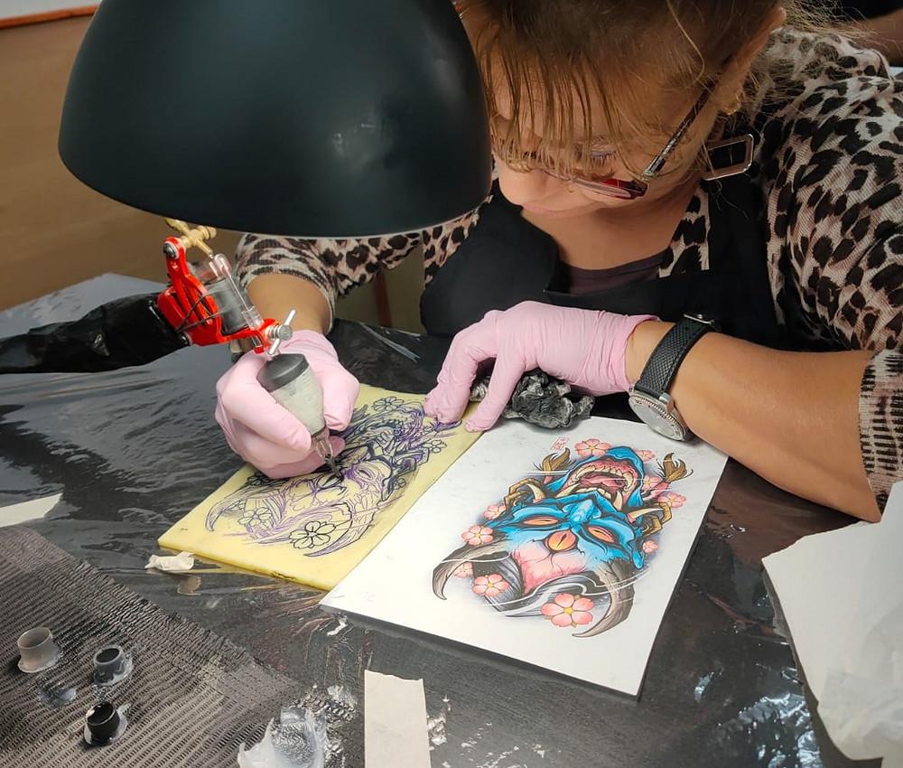 Curso de tatuaje trimestral