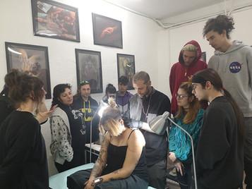 Seminarios de Tatuaje de grandes artistas en el Máster Anual