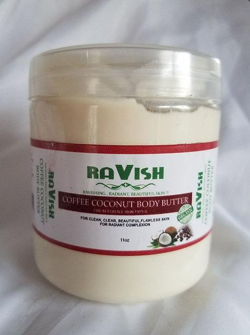 Coffee Coconut Body Butter