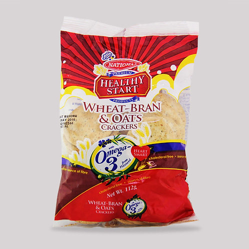 Wheat Bran & Oats Crackers