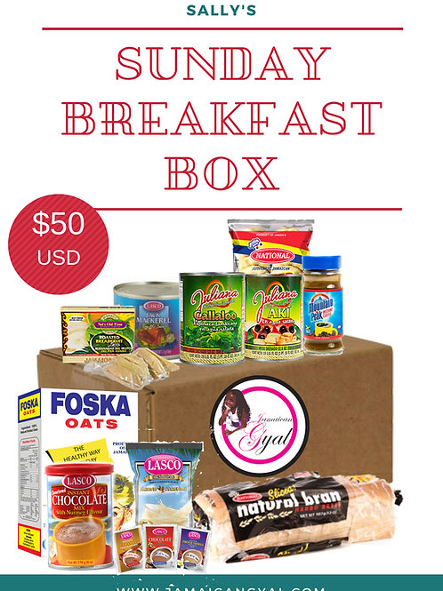 Sunday Breakfast Box