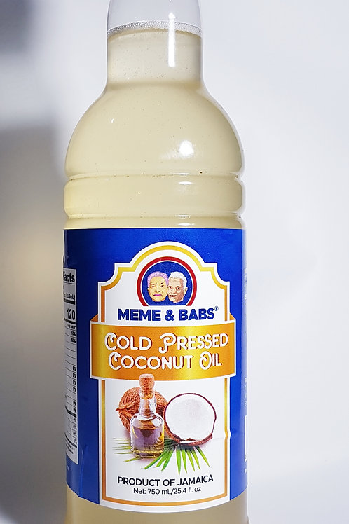 100% Cold Press Coconut Oil