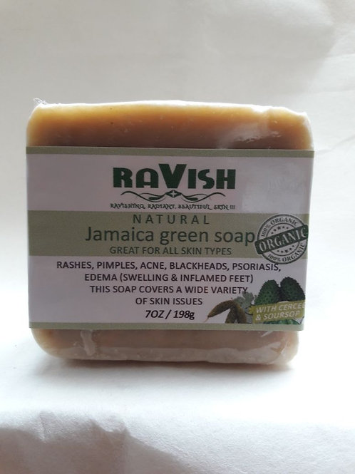 Jamaican Green Soap