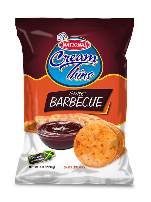 Sweet Barbecue Crackers