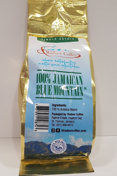 1/4lb (4 oz) Radnor Blue Mountain Coffee