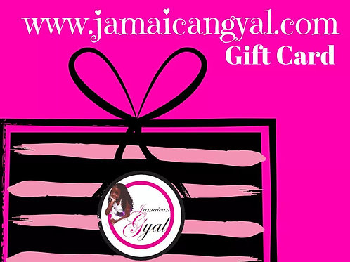 Jamaicangyal.com Gift Card