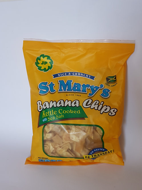 Large St. Mary's Banana Chips