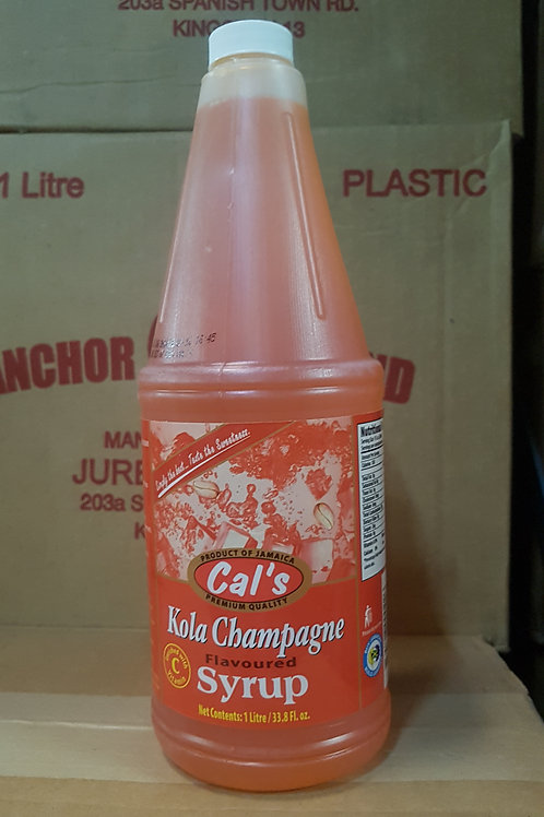 Kola Champagne Syrup