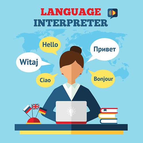 Interpreter Services-Spanish-English