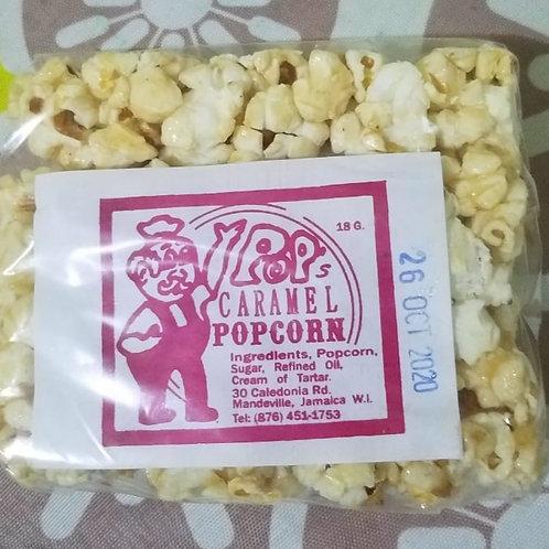 Caramel Popcorn Square