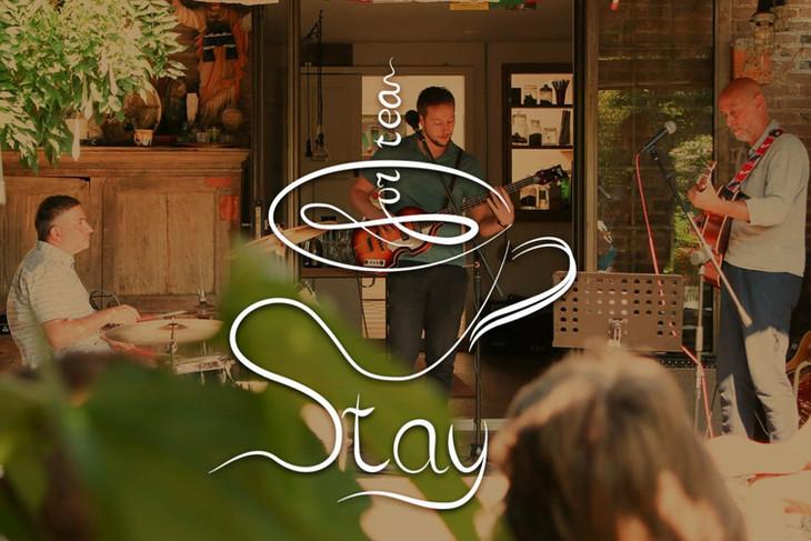Logo Stay For Tea