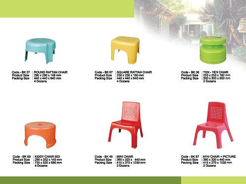 plasticware chairs