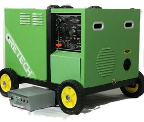Generateur Hybride Biogas ou Energie fos