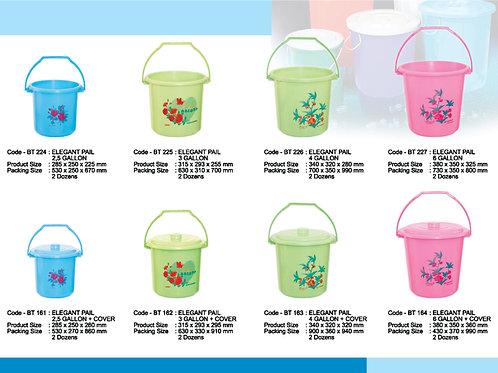 plasticware pails
