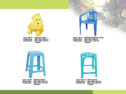 plasticware chairs