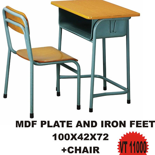 MDF PLATE AND IRON FEET SET