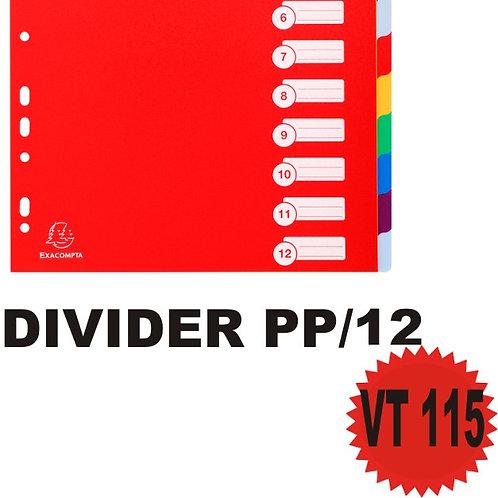 DIVIDER X12