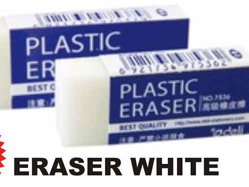 ERASER WHITE