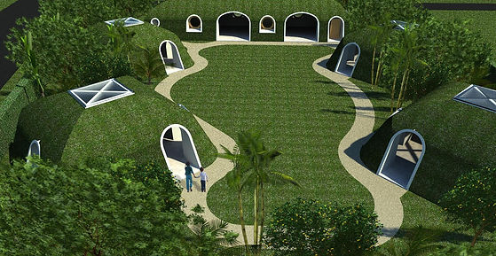 Green Bubble House - Sustainable eco-friendly house- Bali Indonesia