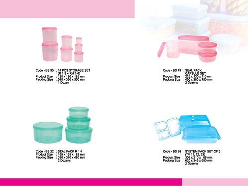 plasticware storage