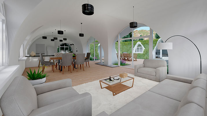 green bubble house bali sustainable construction eco-friendly