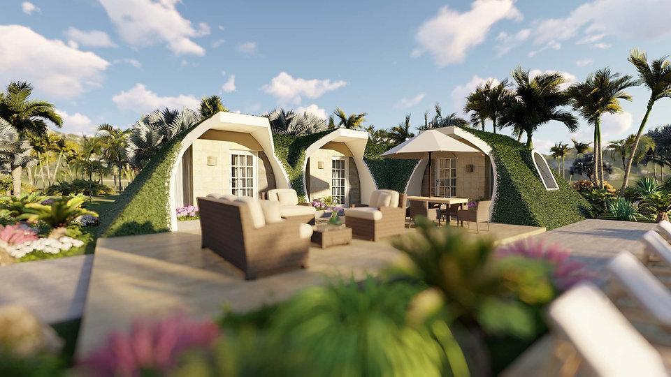 VacationRentals_ecohotel_green_bubble_house