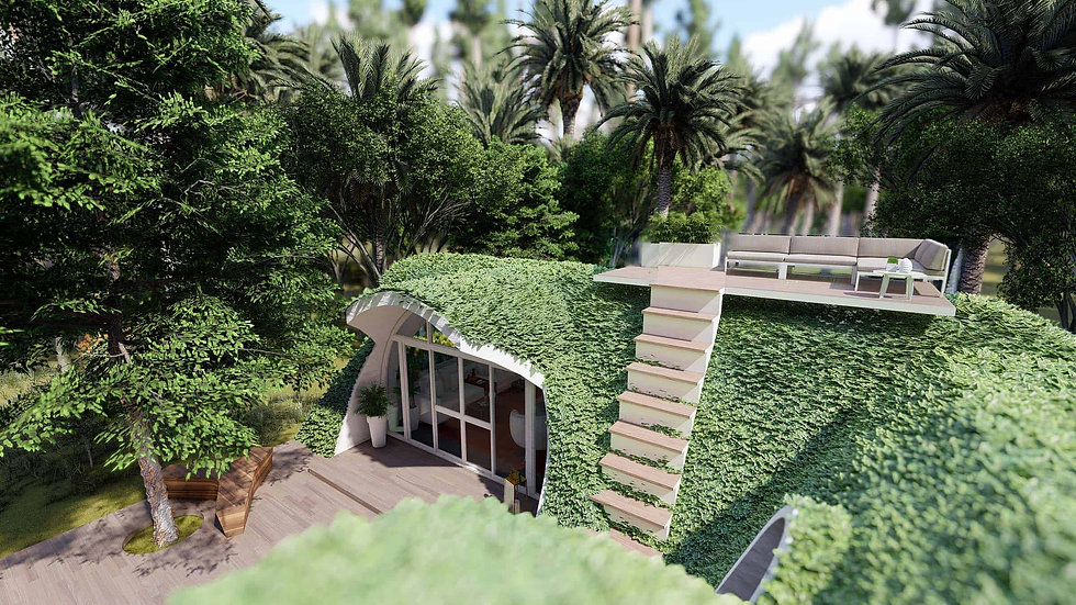 green bubble house bali ecolodge holidays sustainable