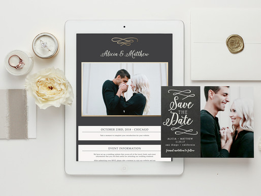 BASIC INVITE: Cheap Save The Date Cards