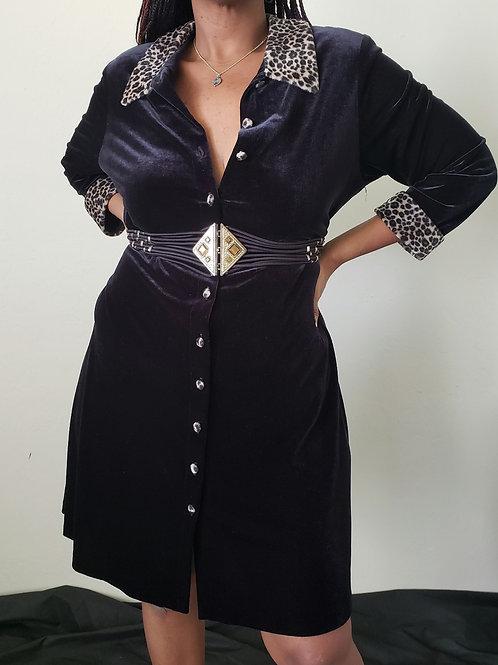 VIVIAN Vintage Dress < 20 w>