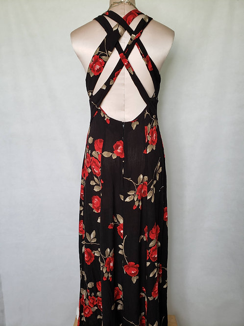 DJ Vintage Cross Back Dress < 9/10 >