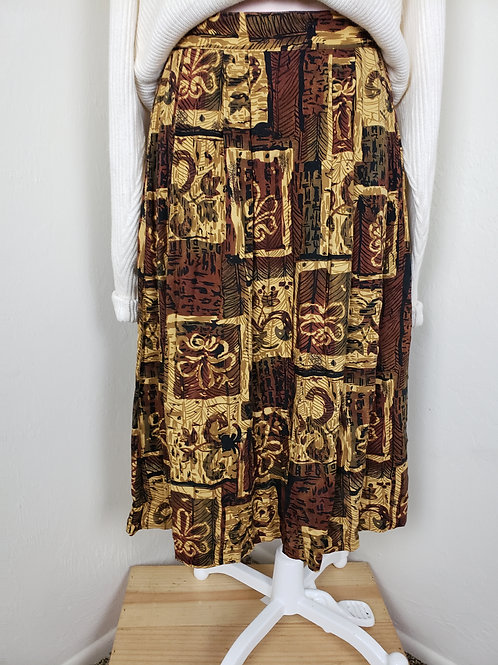 Tribal Maxi Skirt <M >