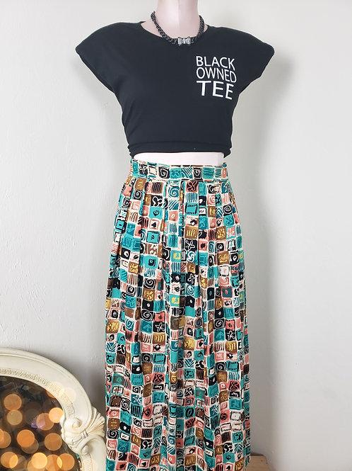 Vintage MAXout Skirt w/ pockets <M>