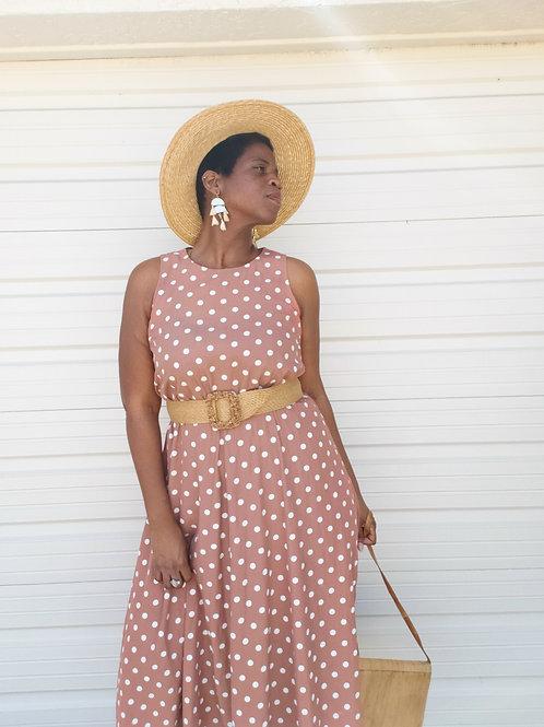 Pretty Woman Polka Dot Dress  < 14 >