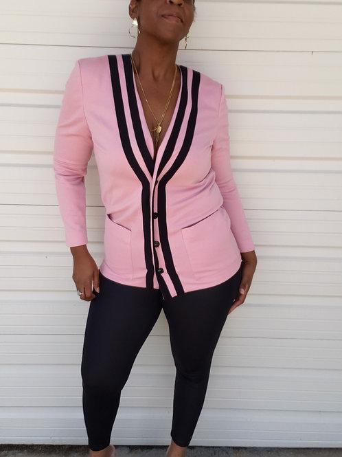 Pretty In Pink Vintage Cardigan < 8 >