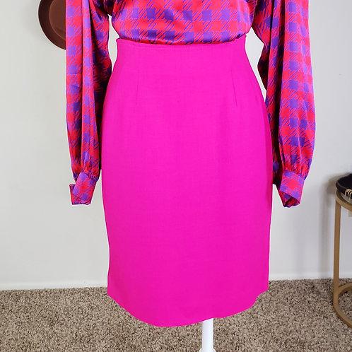 Emmanuel High Waist Pencil Skirt < S >