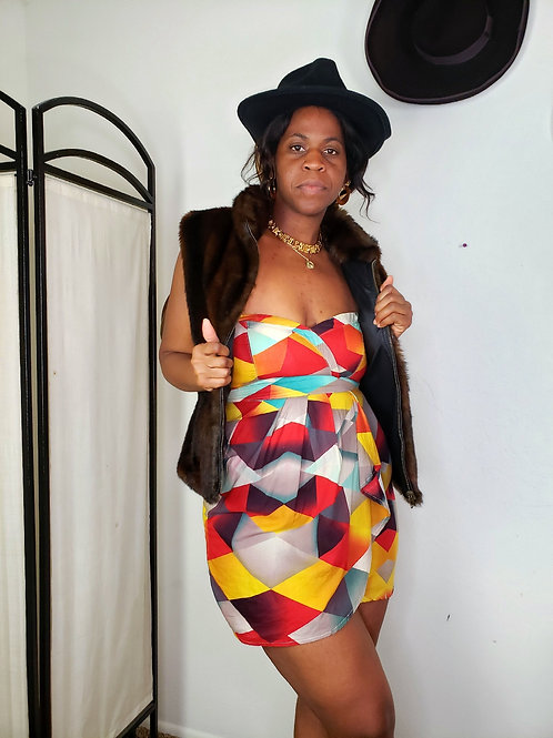 Maddi Mini Dress < L >