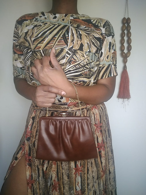 Brown Chain Purse