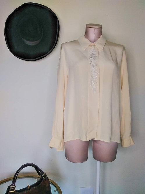 Beige Vintage Blouse < 12 >
