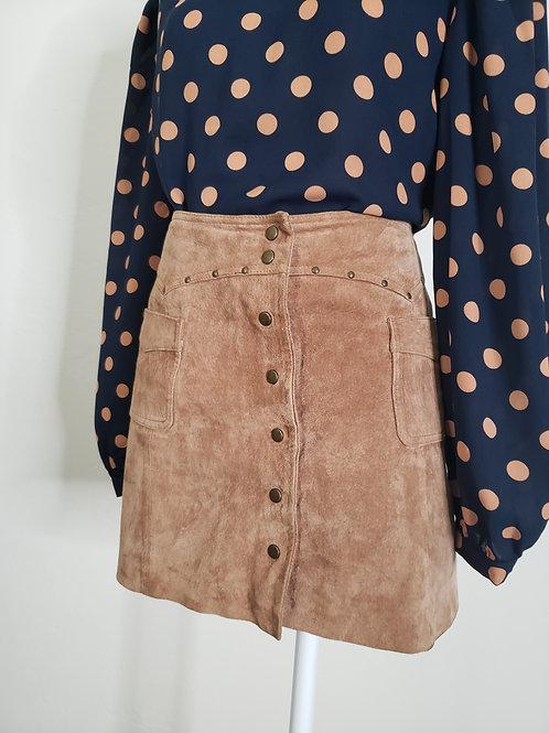Roxy  Vintage Leather Skirt < 11 >