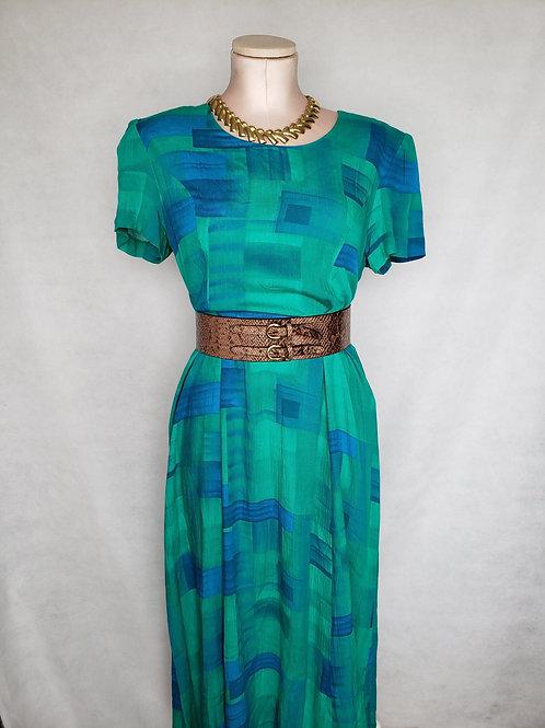 Deedee Maxi Dress w/matching Vest < 4 >
