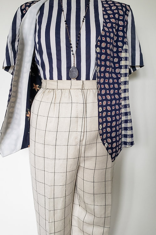 Vintage Striped Trousers < 10/12 >