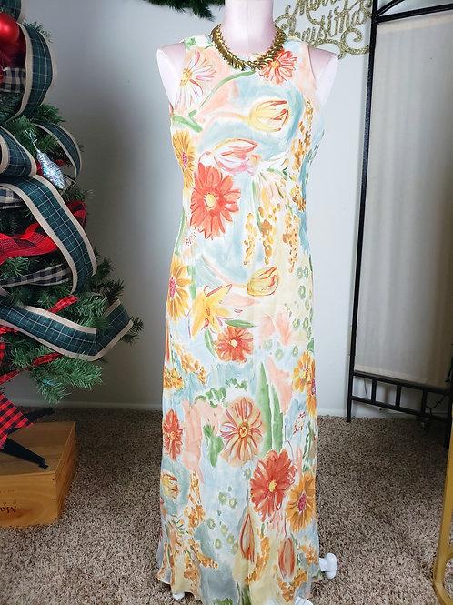 Donna Ricco Floral Dress < 6 >