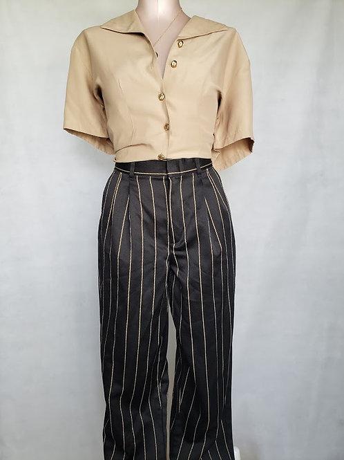 Pinstripe Pants < 6/8 >