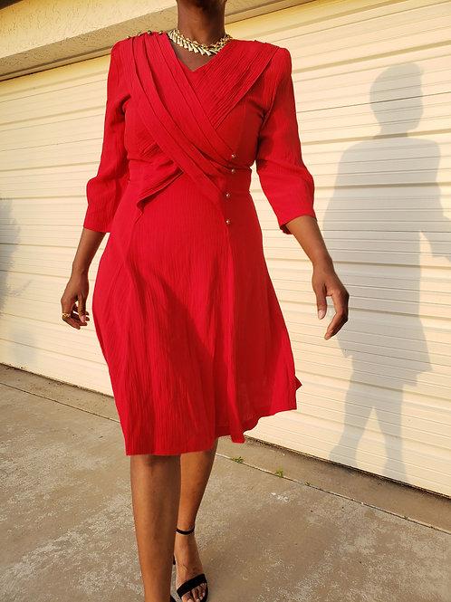 Ultra Fire Red Dress < 12/14 >