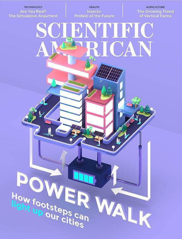 Mock Scientific American cover