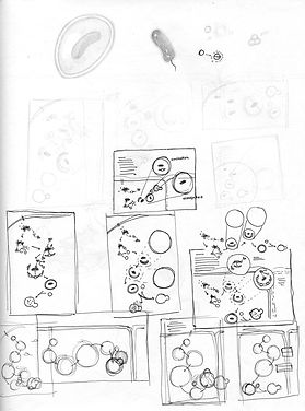 xenophagy sketch