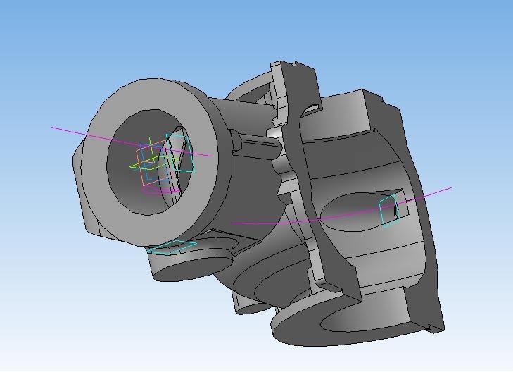 3-д модель корпуса