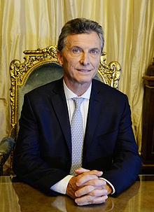 PresidentMauricio Macri