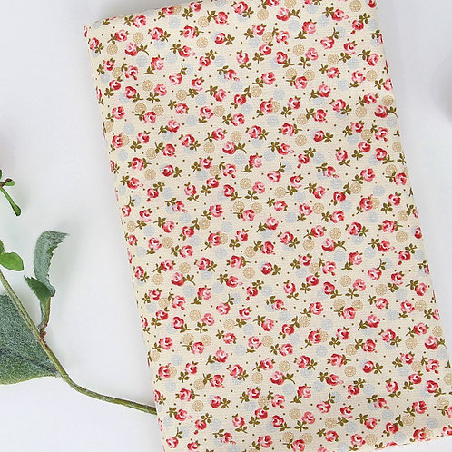 [Floral Pattern] Little Rose, 100% Cotton Fabric by the yard, Free shipping